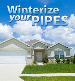 Winterize Your Pipes